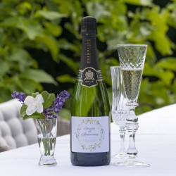 Personalised Anniversary Champagne