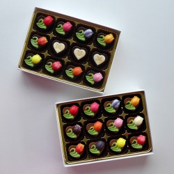 Tulips - Personalised Decorated Chocolates