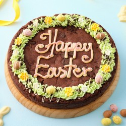 Easter Giant Double Chocolate Cookie