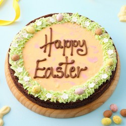 Easter Giant Chocolate Brownie