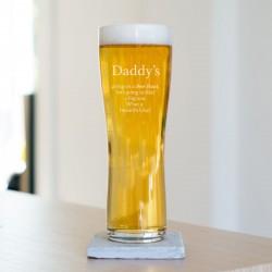 Personalised Beer Hunt Pint Glass