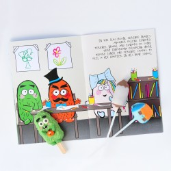 Terence and Friends Cake Pop Story Box