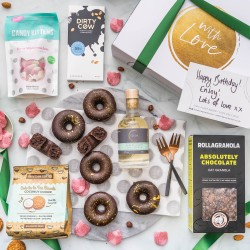 Donut Treat Night Gift Hamper (Add Exclusive Liqueurs)