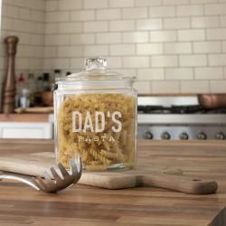 Large Personalised Pasta Jar
