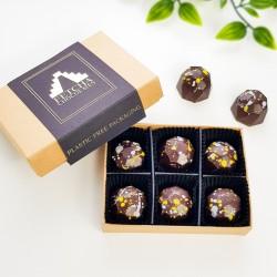 Vegan honeycomb chocolates