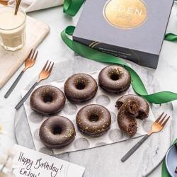 Chocolate Orange Baked Donuts Gift Box (Vegan, Gluten & Refined Sugar Free)