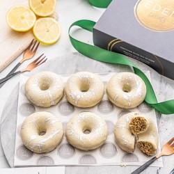 Sicilian Lemon Baked Donuts Gift Box (Vegan, Gluten & Refined Sugar Free)