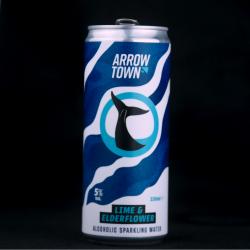Arrowtown Lime & Elderflower Hard Seltzer Premix Can - 12 x 330ml