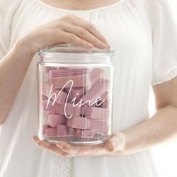 Personalised Glass Storage Jar
