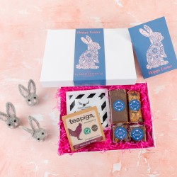 'Easter Bunny' Coffee and Treats Box