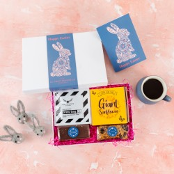 'Easter Bunny' Millionaire's Treats & Coffee Gift