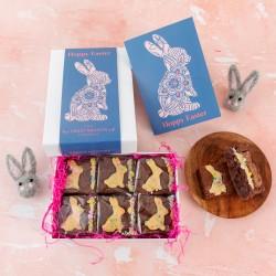 Easter Bunny' Bunny Brownies