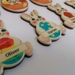 Personalised Easter Bunny Chocolate