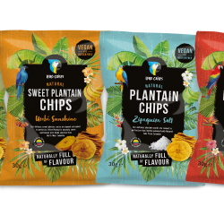 Mixed Plantain Chips Box - Salt, Sweet, Chilli & Lime (12 x 30g)