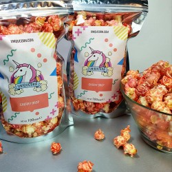 Vegan Cherry Drop Gourmet Popcorn Treat Duo (2 Bags x 100g)