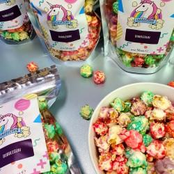 Bubblegum Gourmet Popcorn Snack Pack (4 Bags x 50g)