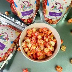 Turkish Delight Gourmet Popcorn Snack Multipack (4 Bags x 50g)