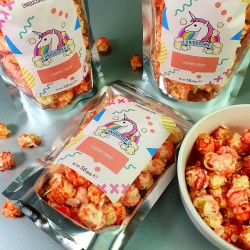 Vegan Cherry Drop Gourmet Popcorn Snack Multipack (4 Bags x 40g)