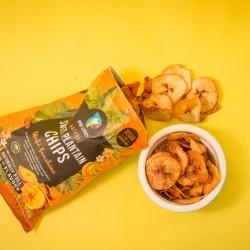 Uraba Sunshine Plantain Chips - Yellow Sweet Plantain (12x30g)