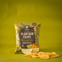 Quimbaya Limon Plantain Chips - Green Plantain with Lime (12x 30g)