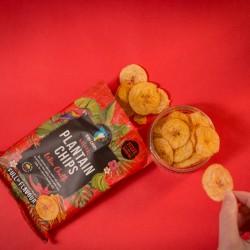 Latin Chilli Plantain Chips - Green Plantain with Chilli (12x30g)