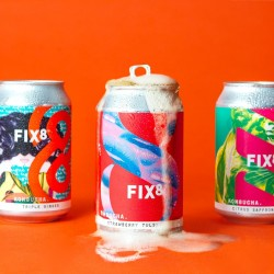Fix8 Kombucha Mixed Case Cans (12 x 330ml)