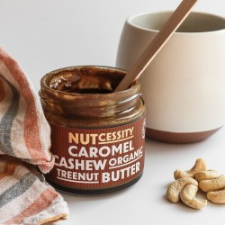 2x Organic Caromel Cashew Nut Butter
