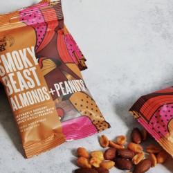 Smoky Savoury Beast Almonds & Spicy Chilli Peanuts (3 x 80g)