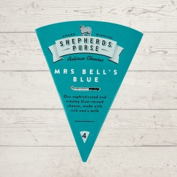Mrs Bell's Blue Cheese (100g)