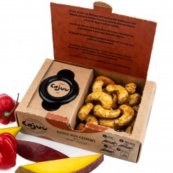 Mango Moa Cashew Nuts and Chilli Dip Tray 6 Pack (100g Each)