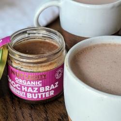 2x Organic Choc Haz Braz Nut Butter