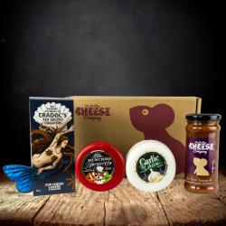 Garlic Cheddar Truckle Gift Box