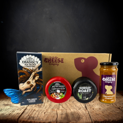 Herb Infused Cheddar Truckle Gift Box