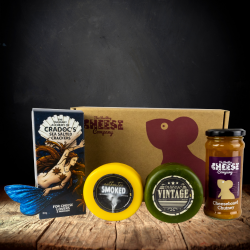 Traditional Cheddar Truckle Gift Box