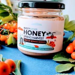 Honey infused with Rowan berries