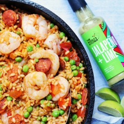 Jalapeno & Lime Sauce - Feisty & Fruity with a Chilli hit (150ml)