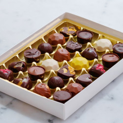 The Ultimate Award-Winning Vegan Chocolate Mixed Truffle Gift Box of 24 | Ethical | Vegan | Plant-Based