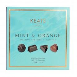 Keats Mint and Orange Chocolate Selection Box 16pcs   170g