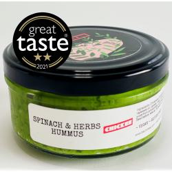 Spinach & Herbs Hummus Dip