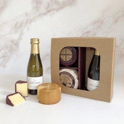 Godminster Cheddar and Prosecco Selection - Round