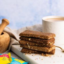 Hiya Snack Bars, Vegan, Gluten Free, Toasty and Aromatic (15 Bar Mixed Box)