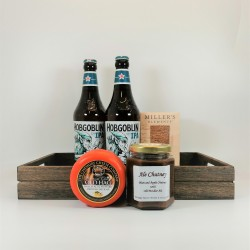 Beer and Cheese Gift Hamper