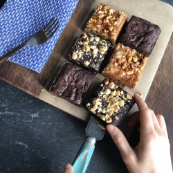 Vegan Mixed Brownie Box - Three Flavours