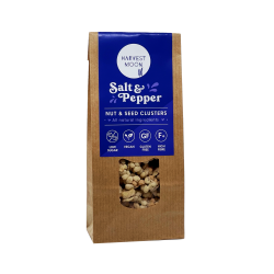 Salt & Pepper Nut & Seed Cluster 12 x 50g