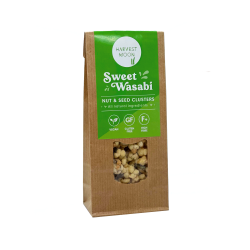 Sweet Wasabi Nut & Seed Clusters 12 x 50g