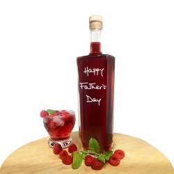 Father's Day Personalised Liqueur Bottle (Choice of Flavour & Bottle Shape)