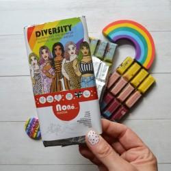 Nono Cocoa - Diversity - Rainbow Vegan Chocolate Bar Set