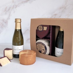 Godminster Cheddar and Prosecco Selection - Heart