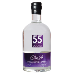 British Artisan Vodka 'The 56'