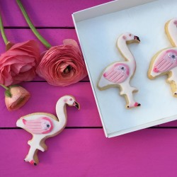 Flamingo Cookies Gift Box